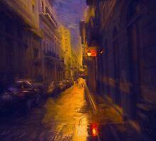 Night Lights by John Rivera