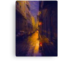 Night Lights Canvas Print
