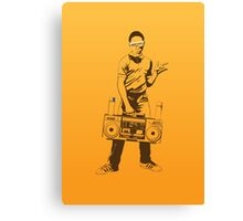 Hip Hop Guy Canvas Print