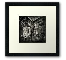 The Watchers Framed Print