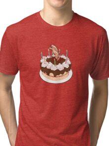 Happy Chestburster Birthday Tri-blend T-Shirt