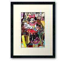 Soundsational Minnie Framed Print