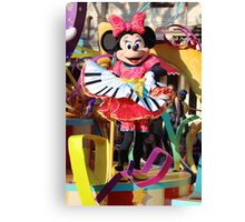 Soundsational Minnie Canvas Print