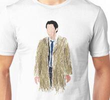 Scribbled Castiel Unisex T-Shirt