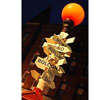 North End, Boston Photographic Print