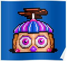 Five Nights at Freddy's 2 - Pixel art - Balloon Girl Poster