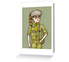 Sam from Moonrise Kingdom Greeting Card