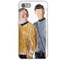 Scribbled spirk iPhone Case/Skin