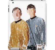Scribbled spirk iPad Case/Skin