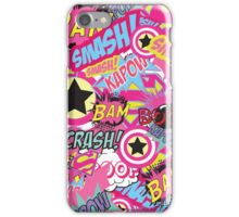 Comic Freak (Pink) iPhone Case/Skin