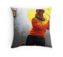 May the Sun Forever Shine Down on You Throw Pillow