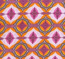 Winged circles by Oluwaseyi Alade