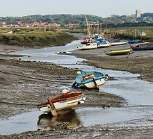 Low tide at Morston by Mortimer123