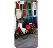 Vintage moto bike iPhone Case/Skin