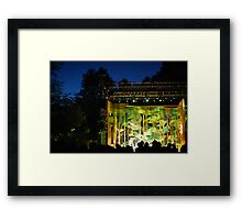 On The Common Framed Print