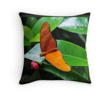 A Touch of Orange Throw Pillow