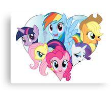 My Little Pony - Heart Canvas Print
