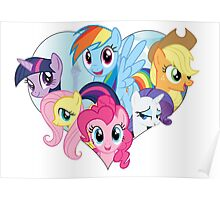 My Little Pony - Heart Poster
