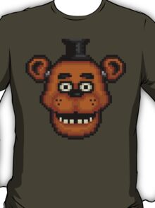 Five Nights at Freddy's 1 - Pixel art - Freddy T-Shirt