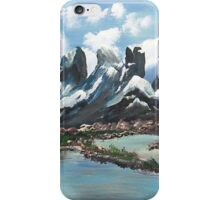 The Andes Of Chile iPhone Case/Skin