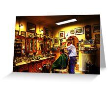 The Barbershop Greeting Card