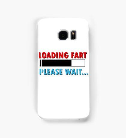 Loading Fart Please Wait | Humor Comedy Samsung Galaxy Case/Skin