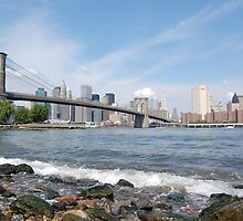Brooklyn Bridge Splash by FluffyMummy