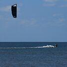 Kiteboarding by Charles Adams