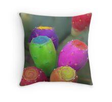 Desert Easter Eggs Throw Pillow