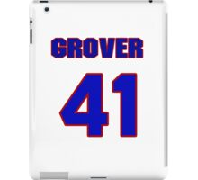 National baseball player Grover Powell jersey 41 iPad Case/Skin