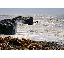 Cullenstown beach, County Wexford, Ireland Photographic Print