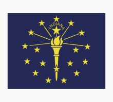 indiana state flag Kids Clothes