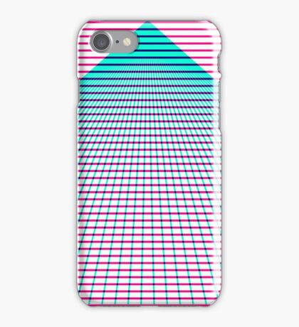 Subtractive grid iPhone Case/Skin