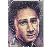 Zach Braff iPad Case/Skin