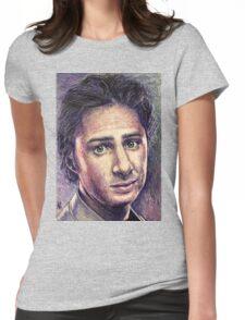 Zach Braff Womens Fitted T-Shirt