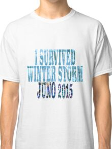 I Survived Winter Storm Juno 2015 Classic T-Shirt
