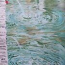 Fountain ripples by Susan Brown