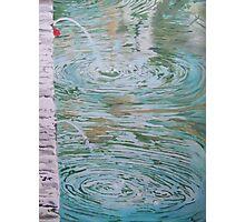 Fountain ripples Photographic Print