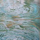 Fountain ripples 2 by Susan Brown