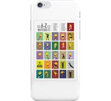 Watford A to Z iPhone Case/Skin