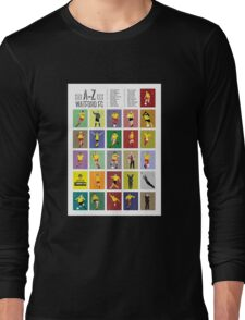 Watford A to Z Long Sleeve T-Shirt