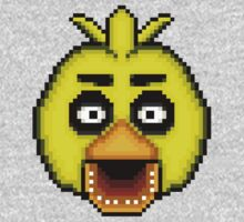 Five Nights at Freddy's 1 - Pixel art - Chica Kids Clothes