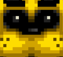 Five Nights at Freddy's 1 - Pixel art - Golden Freddy Sticker