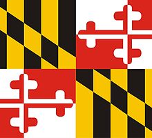 maryland state flag by tony4urban