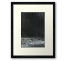 Steel and Stripes Framed Print