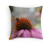 Mister Bumble Throw Pillow