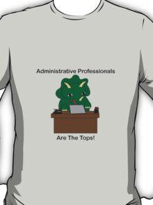 Administrative Professionals Top Triceratops Dinosaur T-Shirt