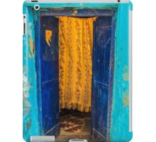 Yellow Curtain iPad Case/Skin