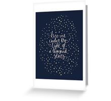 Ed Sheeran - Thinking Out Loud Greeting Card