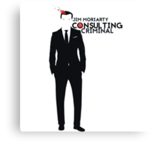 Jim Moriarty - Consulting Criminal Canvas Print